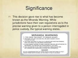 「Miranda v. Arizona,」の画像検索結果