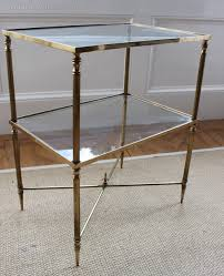 antiques atlas gilt brass and glass side table