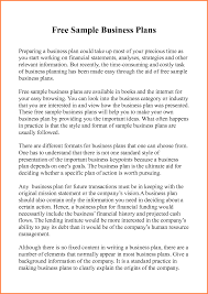 Sample Ofness Plan Proposal Pdf Example Restaurant Resume And