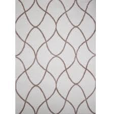 home dynamix ramapo ivory beige microfiber 5 ft x 7 ft indoor