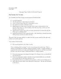 best images of example of a topic proposal topic proposal  one page research proposal example