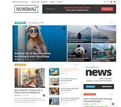 Website Template Newspaper Best Selling News Website Templates To Make Your Website
