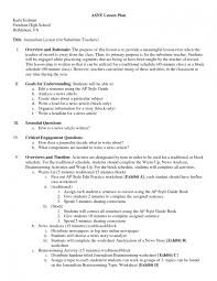 ... Resume Lesson Plan For High School Ideas Plans Special Education Format  8 Resume Lesson Plan Lesson ...
