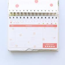 2019 New Cute Fruit Series Daily Weekly Planner Notebook
