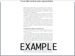 Sample Resume For Medical Representative Medical Sales Resume Sample ...