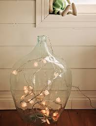 large glass vase with regard to clear floor w string lights inside for the home remodel