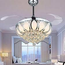 small crystal chandeliers for bedrooms lovely luxury modern crystal chandelier ceiling fan lamp folding ceiling