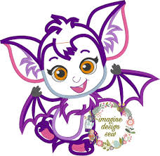 Vampirina Embroidery Designs Vampire Baby Girl Inspired Machine Embroidery Applique Design Instant Download 5x7 6x10 7x11 8x12