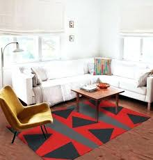 modern area rugs red and black rug cool rugs for living room