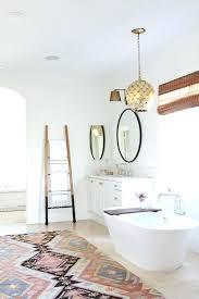bathroom rug ideas interesting southwestern extra large bath rugs with stylish white oval tub and ladder