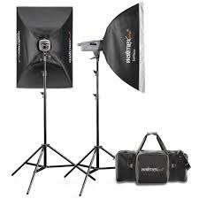 walimex pro studio lighting kit ve 200 200