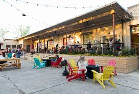 urban beer gardens or biergartens if you want to use the original german have been popping up all across the region