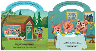 from the three little pigs a finger puppet theater book text copyright 2018 michael robertson all rights reserved