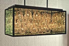 chandelier blown glass and impressive blown glass chandelier by john pomp studios hand blown glass lighting