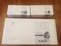 Home  amp  Car Audiophile   Audison Audison Thesis Speakers   Way Kit US
