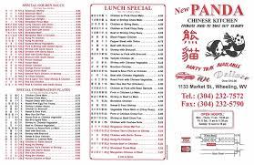 28 Professionally Panda Chinese Kitchen That Are Sparkling With Panda Chinese Kitchen Menu Wheeling Wv
