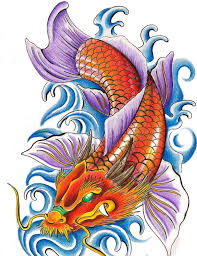 Koi Fish Design 24 Latest Dragon Fish Tattoo Designs