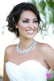 las vegas wedding hair and makeup smokey eye bridal look