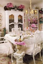 decorating ideas dining room. Elegantly And Beautifully Furnished Shabby Chic Dining Room. Decorating Ideas Room