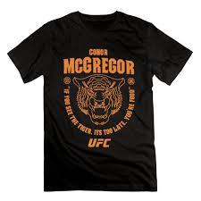 <b>Conor Mcgregor</b> Ufc 202 Tiger Food Mens Fashion <b>Printing</b> Causal ...