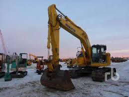 edmonton ab in nisku alberta by ritchie bros auctioneers 2007 komatsu pc228uslc 3e0 galeo kmtpc161j02040529 hyd excavators crawler