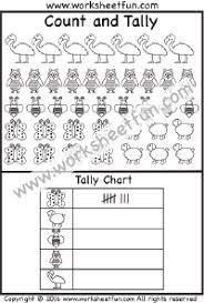 Tally Chart 1 Worksheet Free Printable Worksheets