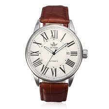 sewor leather mechanical simple style automatic men watch us 12 39 sewor leather mechanical simple style automatic men watch
