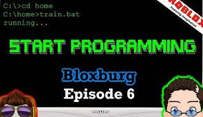 get programming skill in bloxburg