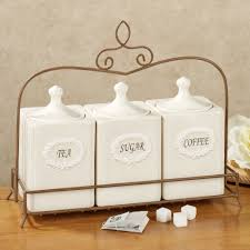country kitchen canisters ceramic