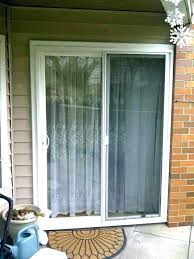 inch sliding patio door french doors x built in blinds accordion full size of screen glass