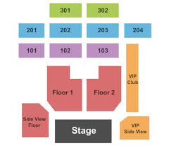 Fillmore Seating Chart The Fillmore Tickets In Charlotte North Carolina The