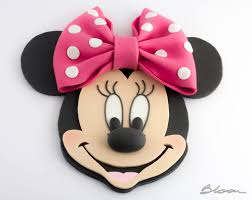 Minnie Mouse Cake Topper Minnie Mouse Fondant