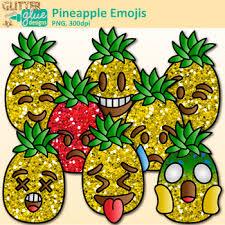pineapple emoji png. pineapple emoji clip art {emoticons for brag tags \u0026 classroom decor} png