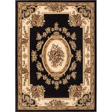 well woven timeless le petit palais black 7 ft x 9 ft traditional classical