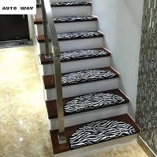 stairs rug zebra pattern stair carpets stairs mat stepping rug self adhesive lattice floor mat self