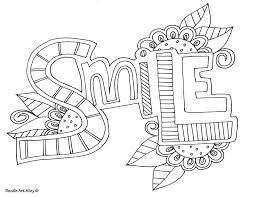 Word Coloring Pages Kids Coloring Book