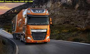 jual poster daf trucks trucks daf xf