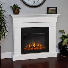 real flame slim line crawford white electric fireplace 8020e w the simple s