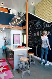 diy chalkboard paint for a eclectic kitchen with a kitchen mat and marina del rey chalkboard paint office