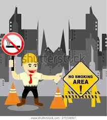 No Smoking Area Cartoon Stock Image Download Now