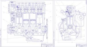 Курсовые и дипломные работы автомобили расчет устройство  Дипломный проект Автомобильный дизельный двигатель жидкостного охлаждения номинальной мощностью 95 кВт при частоте вращения коленчатого