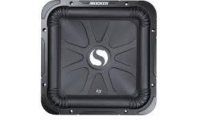 kicker solo baric® l3 series 11s12l32 12 subwoofer dual 2 kicker solo baric® l3 series 11s12l32 front
