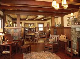 Interior  Craftsman Style Homes Interior Industrial Large - Craftsman house interiors
