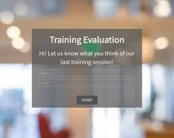 Training Evaluation Template | Survey Anyplace