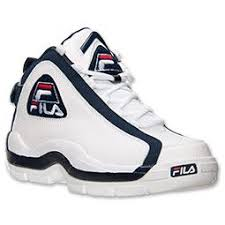 fila basketball shoes grant hill. men\u0027s fila 96 varsity og basketball shoes | finish line white/peacoat/chinese red pinterest shoe game, kicks and athletic gear grant hill