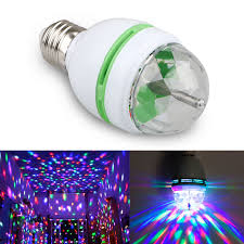 The Range Disco Light Bulb Battery Powered Led Disco Ball Rotating Spinning Crystal