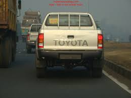 Spotted - Toyota Hilux in India