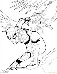 Search through 623,989 free printable colorings at getcolorings. Superhero Spiderman Homecoming Coloring Page Free Coloring Pages Online Superhero Coloring Superhero Coloring Pages Avengers Coloring Pages