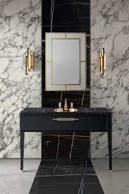 art deco bathroom. White And Black Marble For Decorating The Walls Floors Is A Gorgeous Idea To Rock Art Deco Bathroom M