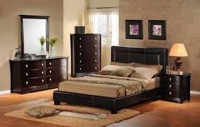 victorian bedroom furniture ideas victorian bedroom. Furniture, Snazzy Brown Bedroom Decorating With Black Leather Bed Headboard And Dark Italian Varnish Victorian Furniture Ideas